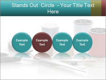 Scissors and Bobbins PowerPoint Template - Slide 76