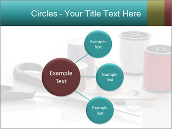 Scissors and Bobbins PowerPoint Template - Slide 79