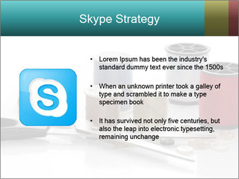 Scissors and Bobbins PowerPoint Template - Slide 8