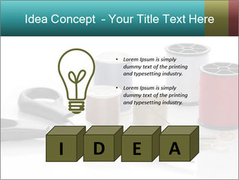 Scissors and Bobbins PowerPoint Template - Slide 80
