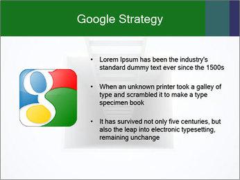 Ladder from Underground PowerPoint Template - Slide 10