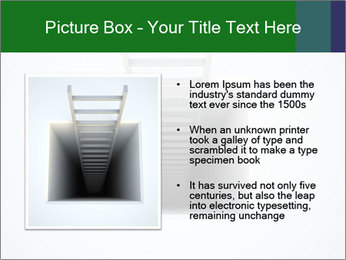 Ladder from Underground PowerPoint Template - Slide 13