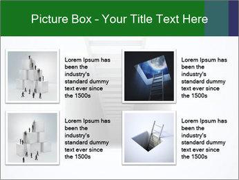 Ladder from Underground PowerPoint Templates - Slide 14