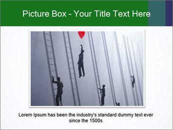 Ladder from Underground PowerPoint Template - Slide 16