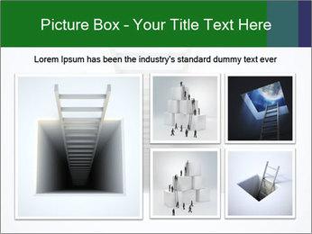 Ladder from Underground PowerPoint Template - Slide 19