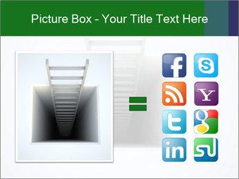 Ladder from Underground PowerPoint Template - Slide 21