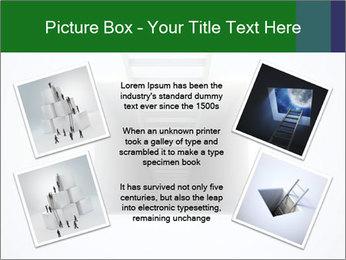 Ladder from Underground PowerPoint Template - Slide 24