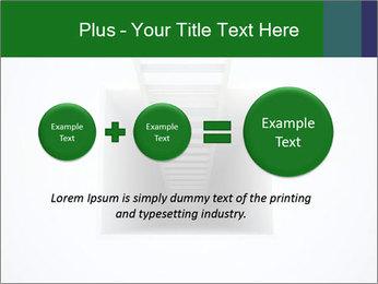 Ladder from Underground PowerPoint Template - Slide 75