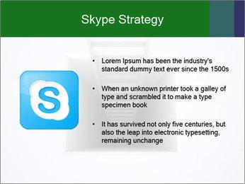 Ladder from Underground PowerPoint Template - Slide 8