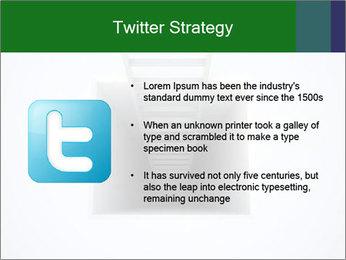 Ladder from Underground PowerPoint Template - Slide 9