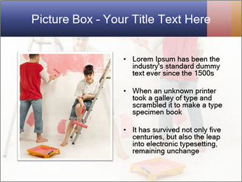 Family Painiting Walls PowerPoint Templates - Slide 13