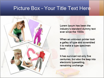 Family Painiting Walls PowerPoint Templates - Slide 23