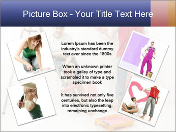 Family Painiting Walls PowerPoint Templates - Slide 24
