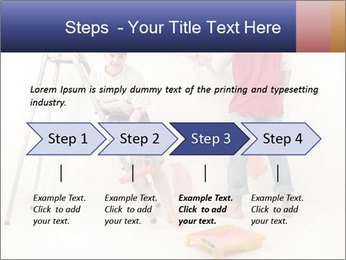 Family Painiting Walls PowerPoint Templates - Slide 4
