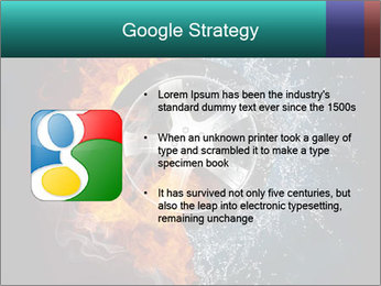 Water and Fire Over Wheel PowerPoint Templates - Slide 10