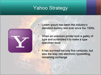 Water and Fire Over Wheel PowerPoint Templates - Slide 11