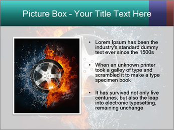 Water and Fire Over Wheel PowerPoint Templates - Slide 13