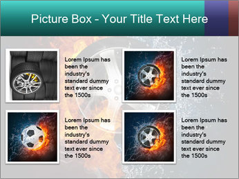Water and Fire Over Wheel PowerPoint Templates - Slide 14