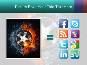 Water and Fire Over Wheel PowerPoint Templates - Slide 21