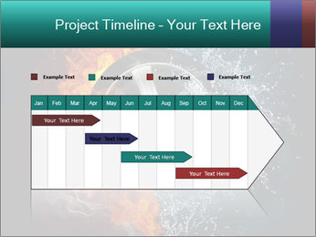 Water and Fire Over Wheel PowerPoint Templates - Slide 25