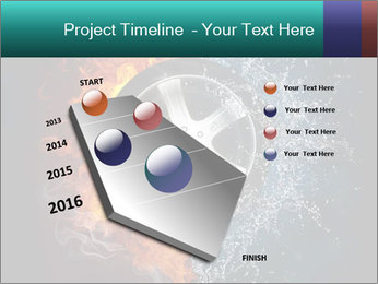 Water and Fire Over Wheel PowerPoint Templates - Slide 26