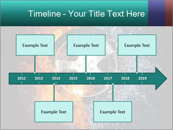 Water and Fire Over Wheel PowerPoint Templates - Slide 28