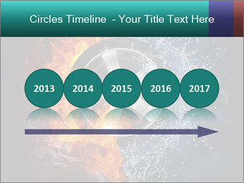 Water and Fire Over Wheel PowerPoint Templates - Slide 29