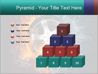Water and Fire Over Wheel PowerPoint Templates - Slide 31