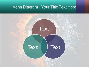 Water and Fire Over Wheel PowerPoint Templates - Slide 33