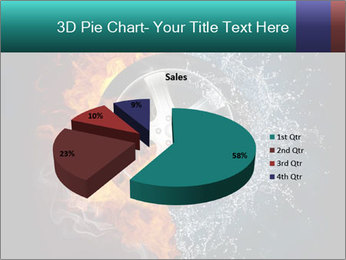 Water and Fire Over Wheel PowerPoint Templates - Slide 35