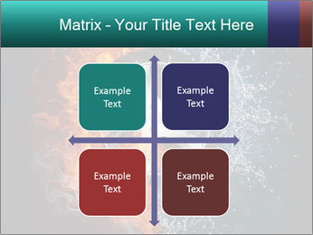 Water and Fire Over Wheel PowerPoint Templates - Slide 37