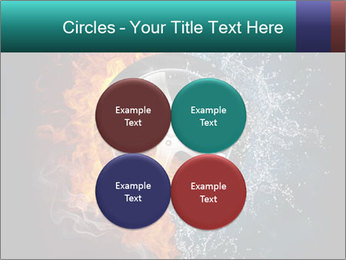 Water and Fire Over Wheel PowerPoint Templates - Slide 38