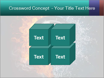 Water and Fire Over Wheel PowerPoint Templates - Slide 39