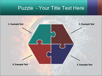 Water and Fire Over Wheel PowerPoint Templates - Slide 40