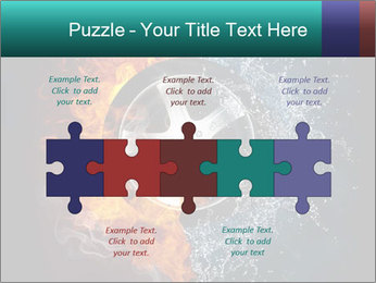 Water and Fire Over Wheel PowerPoint Templates - Slide 41