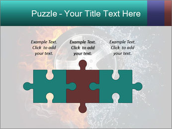 Water and Fire Over Wheel PowerPoint Templates - Slide 42