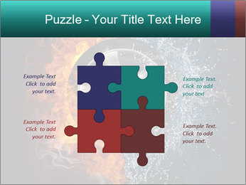 Water and Fire Over Wheel PowerPoint Templates - Slide 43