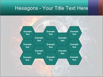 Water and Fire Over Wheel PowerPoint Templates - Slide 44