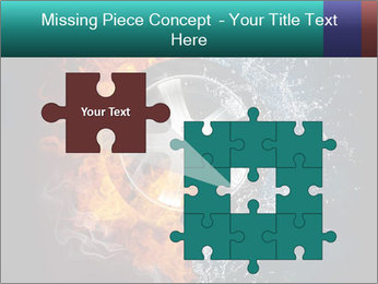 Water and Fire Over Wheel PowerPoint Templates - Slide 45