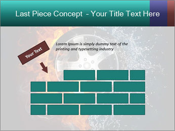 Water and Fire Over Wheel PowerPoint Templates - Slide 46