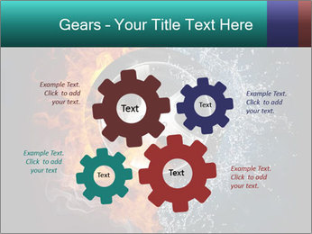 Water and Fire Over Wheel PowerPoint Templates - Slide 47