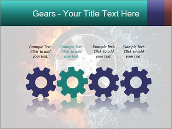 Water and Fire Over Wheel PowerPoint Templates - Slide 48