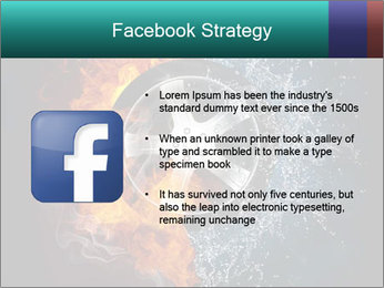 Water and Fire Over Wheel PowerPoint Templates - Slide 6