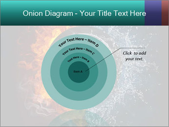 Water and Fire Over Wheel PowerPoint Templates - Slide 61