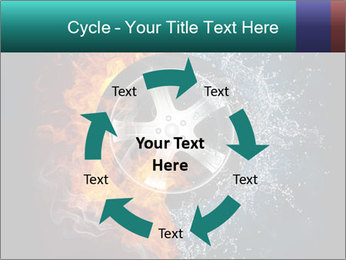 Water and Fire Over Wheel PowerPoint Templates - Slide 62