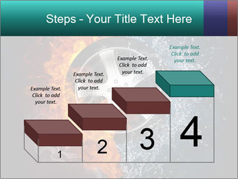 Water and Fire Over Wheel PowerPoint Templates - Slide 64
