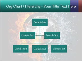 Water and Fire Over Wheel PowerPoint Templates - Slide 66
