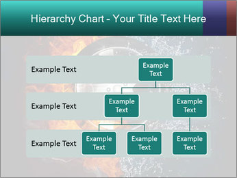 Water and Fire Over Wheel PowerPoint Templates - Slide 67