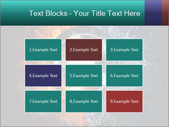 Water and Fire Over Wheel PowerPoint Templates - Slide 68