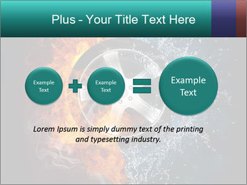 Water and Fire Over Wheel PowerPoint Templates - Slide 75